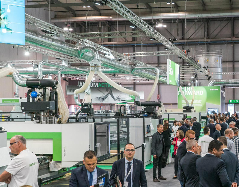 Guide to the main trade fairs for wood processing 3