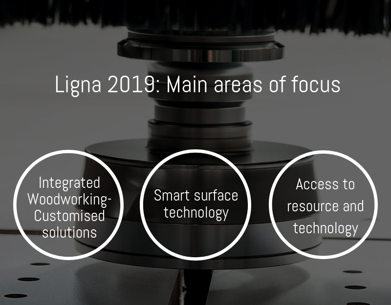 Ligna 2019 fair areas of focus