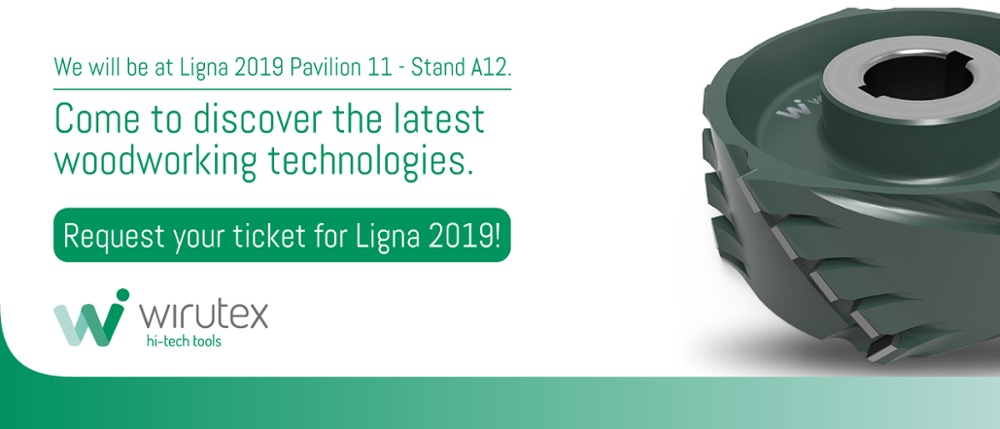 Ligna 2019 fair request your ticket
